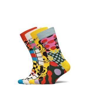 Happy Socks 4-Pack Disney Gift Set Underwear Socks Regular Socks Multi/mönstrad Happy Socks