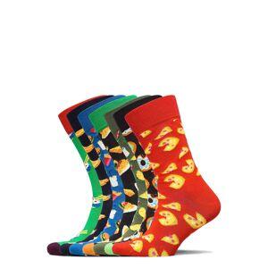 Happy Socks 7-Pack 7 Days Of Food Socks Gift Set Ankelstrumpor Korta Strumpor Multi/mönstrad Happy Socks