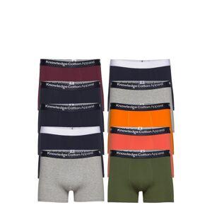 Knowledge Cotton Apparel Maple 10 Pack Underwear - Gots/Vega Boxerkalsonger Multi/mönstrad Knowledge Cotton Apparel