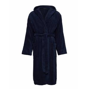 Schiesser Bath Robe Morgonrock Badrock Blå Schiesser