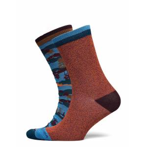 Scotch & Soda Colourful Cotton-Blend Socks Underwear Socks Regular Socks Multi/mönstrad Scotch & Soda