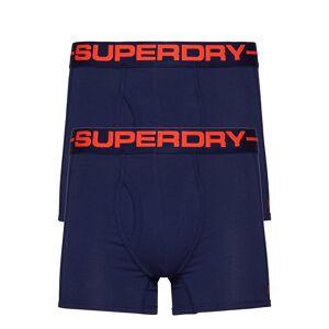 Superdry Sport Boxer Double Pack Boxerkalsonger Blå Superdry