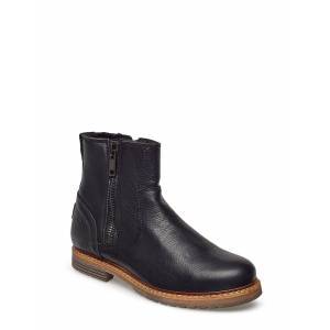 Björn Borg Joss High Zip W Shoes Boots Ankle Boots Ankle Boot - Flat Svart Björn Borg