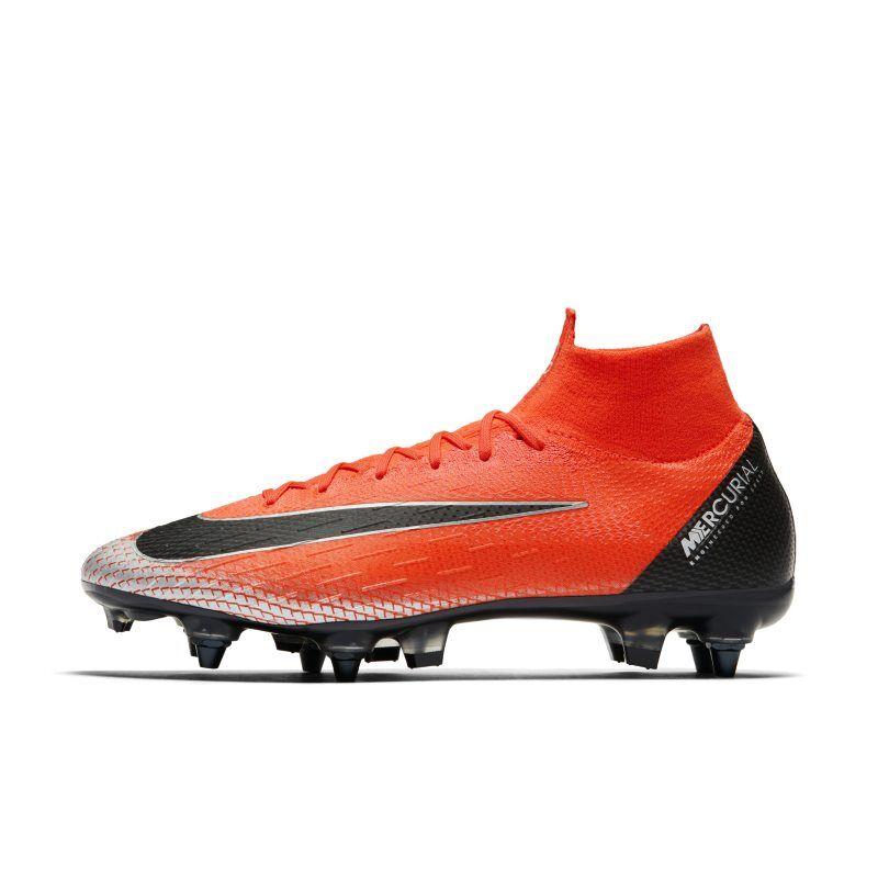 online retailer fde82 68e68 Nike Fotbollssko för vått gräs CR7 Superfly 6 Elite Anti-Clog - Röd 6.5