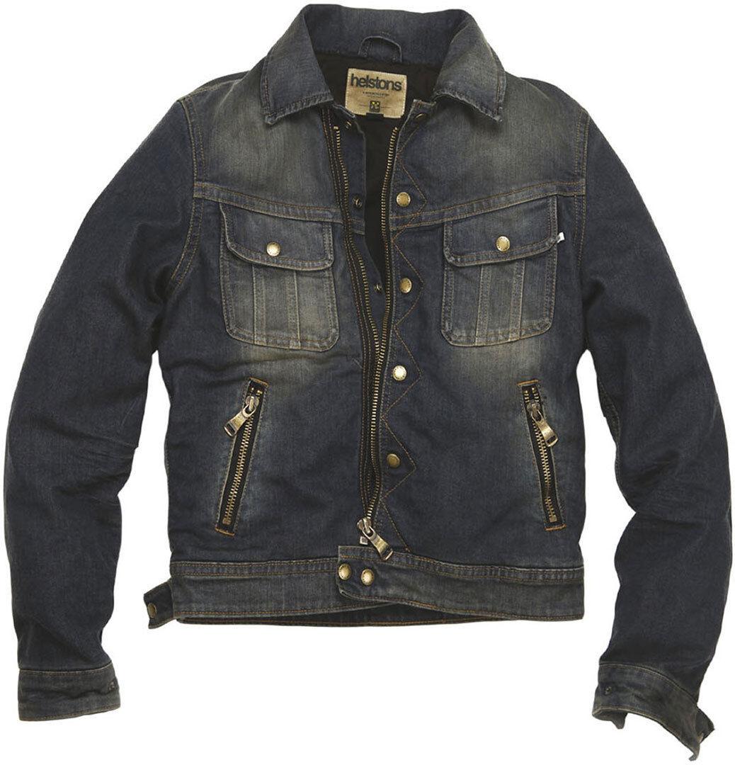 Helstons Cannonball Textil jacka Blå 2XL