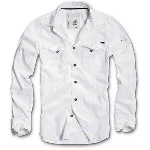 Brandit SlimFit Skjorta Vit S
