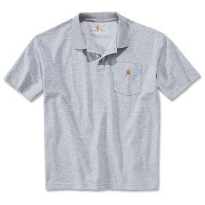 Carhartt Contractors Work Pocket Polo Shirt Grå M