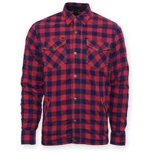 Bores Lumberjack Skjorta Röd Blå 5XL