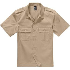 Brandit Us 1/2 Skjorta Beige XL