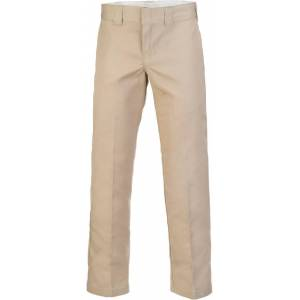 Dickies Slim Straight Work Byxor Beige 38