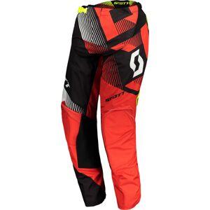 Scott 350 Dirt Motocross byxor 2018 Svart Röd 28