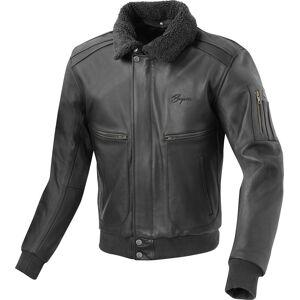 Bogotto Aviator Motorcykel läder jacka Svart 54