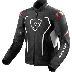 Revit Vertex H20 Textil jacka Svart Röd 3XL