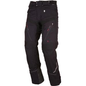 Modeka Chekker Motorcykel textil byxor Svart 4XL
