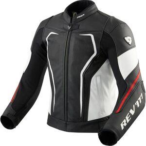 Revit Vertex GT Motorcykel läder jacka Svart Röd 50