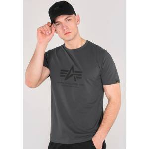 Alpha Industries Basic T-Shirt Grå 3XL
