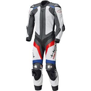Held Race-Evo II Ett stycke motorcykel läder kostym Vit Röd Blå 58