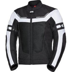 IXS Sport Levante-Air 2.0 Motorcykel textil jacka Svart Vit S