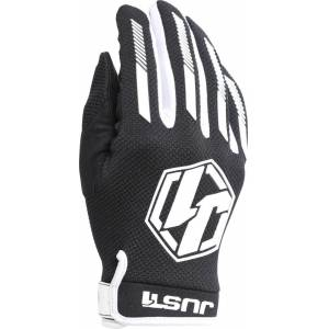 Just1 J-Force Motocross handskar Svart Vit XS