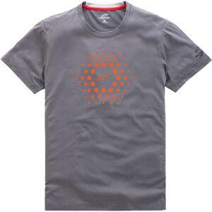 Alpinestars Burst Ride Dry T-Shirt 2XL Grå