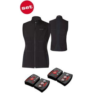 Lenz Lithium Pack rcB 1800 Bluetooth + 1.0 Heatable Vest Värmebar väst 2XL Svart