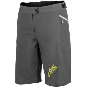 Alpinestars Stella Pathfinder Ladies Bicycle Shorts Damer Cykel Shorts 34 Grå Gul
