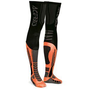 Acerbis X-Leg Pro Strumpor Svart Orange S M