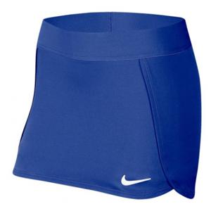 NIKE Court Skirt Stripe Blue - Girls (L)