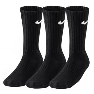 NIKE Cushioned Crew 3-pack Black Socks (38-42)