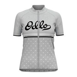 ODLO Stand-up Collar s/s Full Zip Element Dam Cykel-jerseytröja L