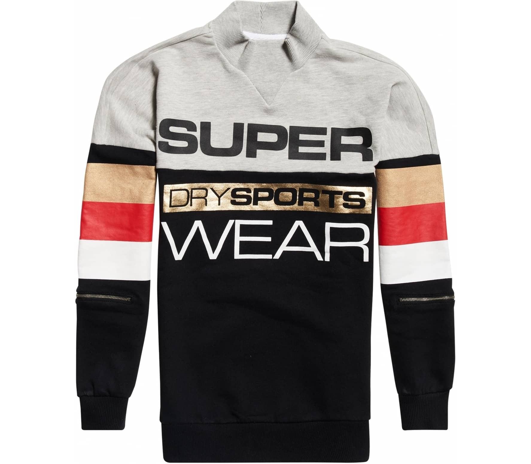 SUPERDRY SPORT® Street Sports Dam Sweatshirt svart