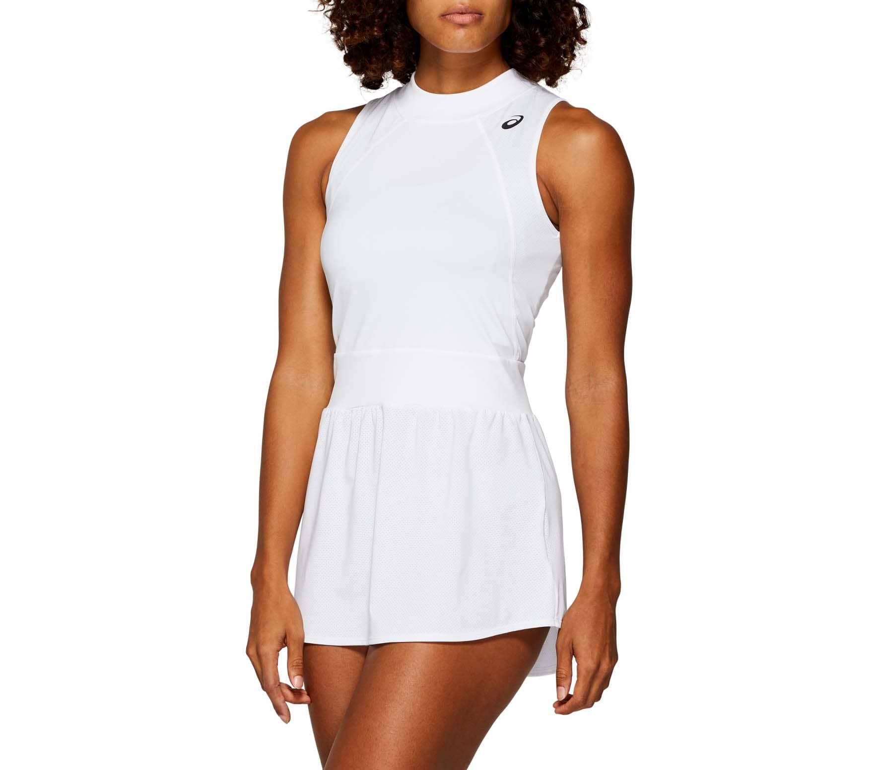 ASICS - Gel-Cool Klänning Dam tennis klänning (vit) - XS