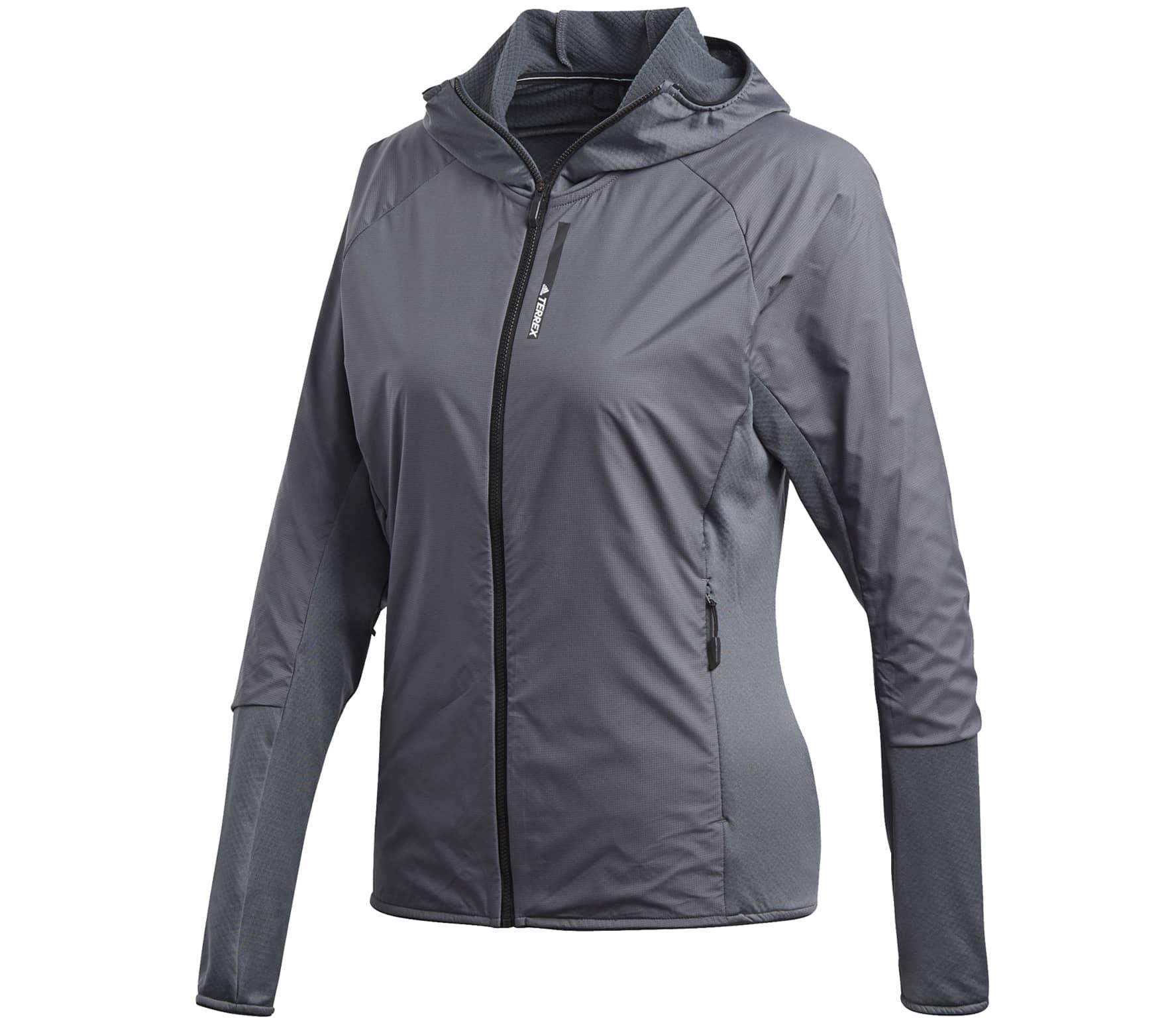 Adidas - Skyclimb Dam fleece jacket (grå) - M