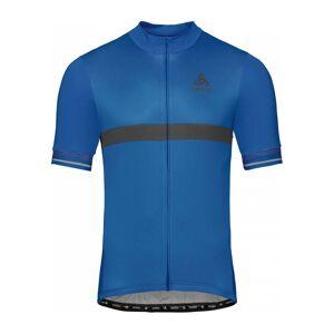 ODLO Stand-up Collar s/s Full Zip Fujin Ceram Herr Cykel-jerseytröja L