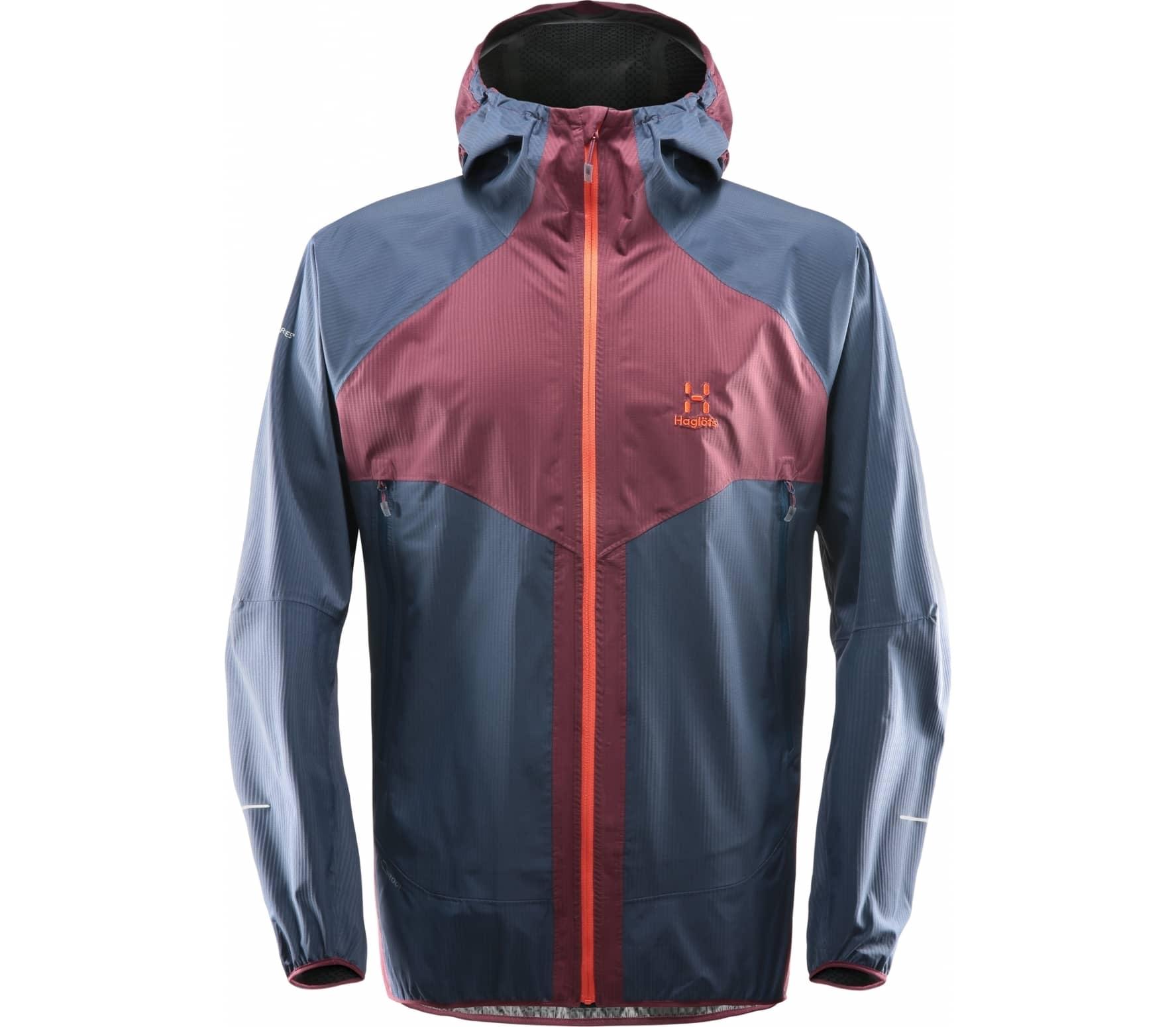 Haglöfs - L.I.M Proof Multi Herr 2.5 layer jacket (lila/blå) - XL
