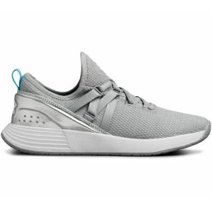 Under Armour Breathe Trainer Dam Träningsskor silver