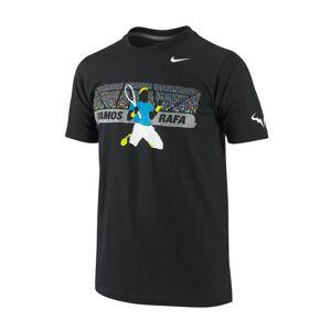 Nike Raffa Illustrative camicia Boys nero Barn 170