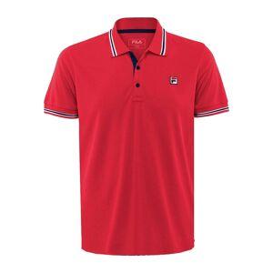 Fila Piro Herr Tennis-polotröja röd