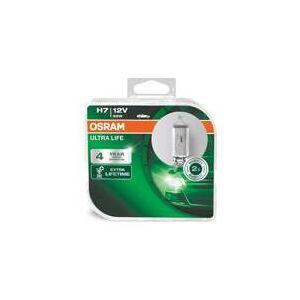OSRAM Uppsättning 2 glödlampor H1 Ultra Life  (64210ULT-HCB)