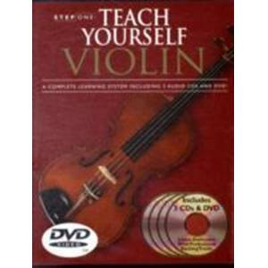 Step one - teach yourself violin (cd/dvd pack)