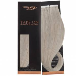 Poze Standard Tape On Extensions - 52g Dirty Titanium Mix 10BS/12AS - 60cm