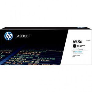 HP hög kapacitet tonerkassett 658X original svart 33 000 sidor, art. W2000X