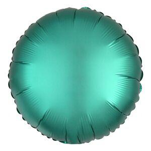 Amscan Folieballong Rund Satin Grön