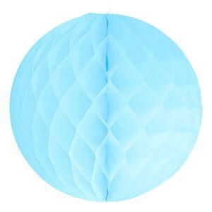 Unique Party Honeycomb Ljusblå
