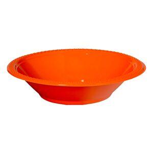 Amscan Partyskålar Orange - 20-pack