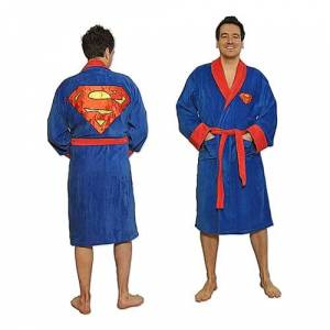 Fizz Creations Superman Morgonrock - One size