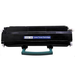 Lexmark Kompatibel Lexmark E450 BK E450A21A Lasertoner, Svart, 6000 sidor