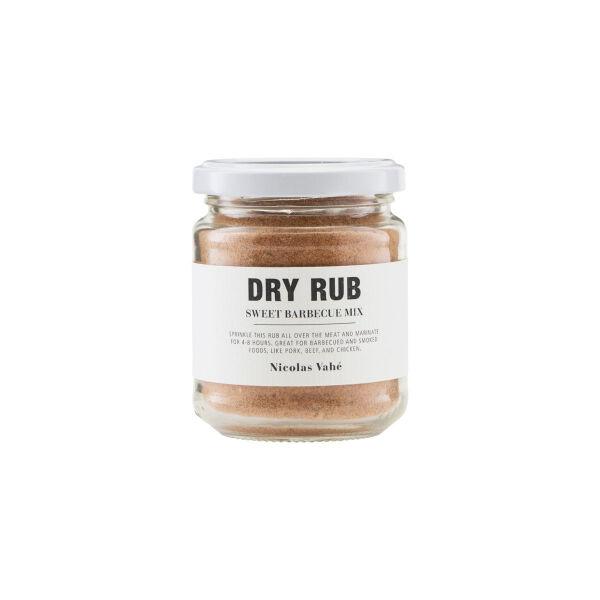 Nicolas Vahé Dry Rub, Sweet Barbecue Mix, 110 g.