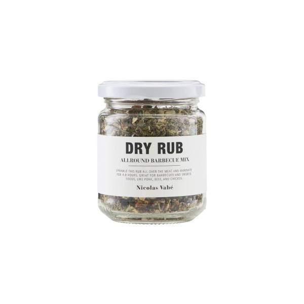Nicolas Vahé Dry Rub, Allround Barbecue Mix, 75 g.