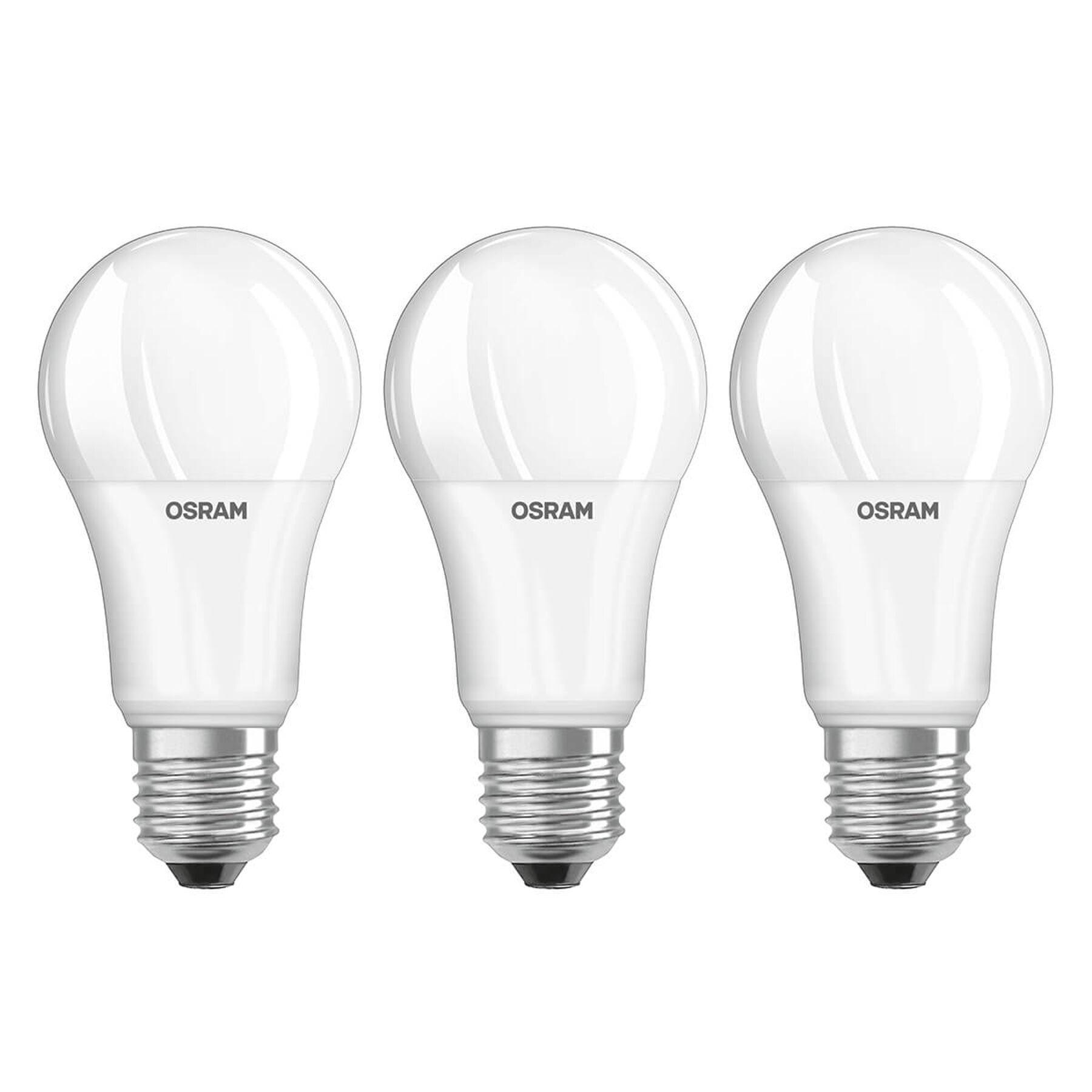 OSRAM LED-lampa E27 13W, universalvit, 3-pack